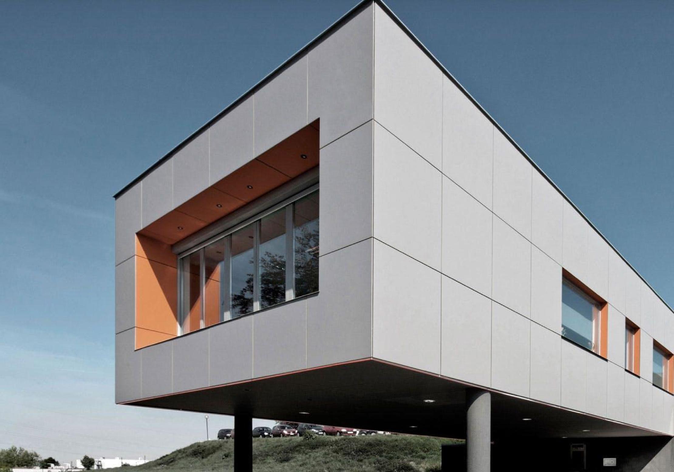 Panel para fachada Fachada ventilada de fibrocemento